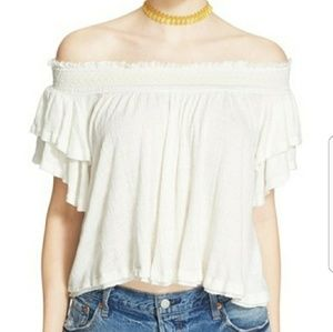 FREE PEOPLE NWT OFF SHOULDER TOP